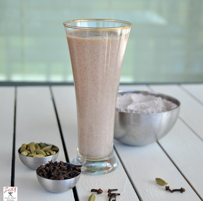 HOT RAGI DRINK WITH CLOVES