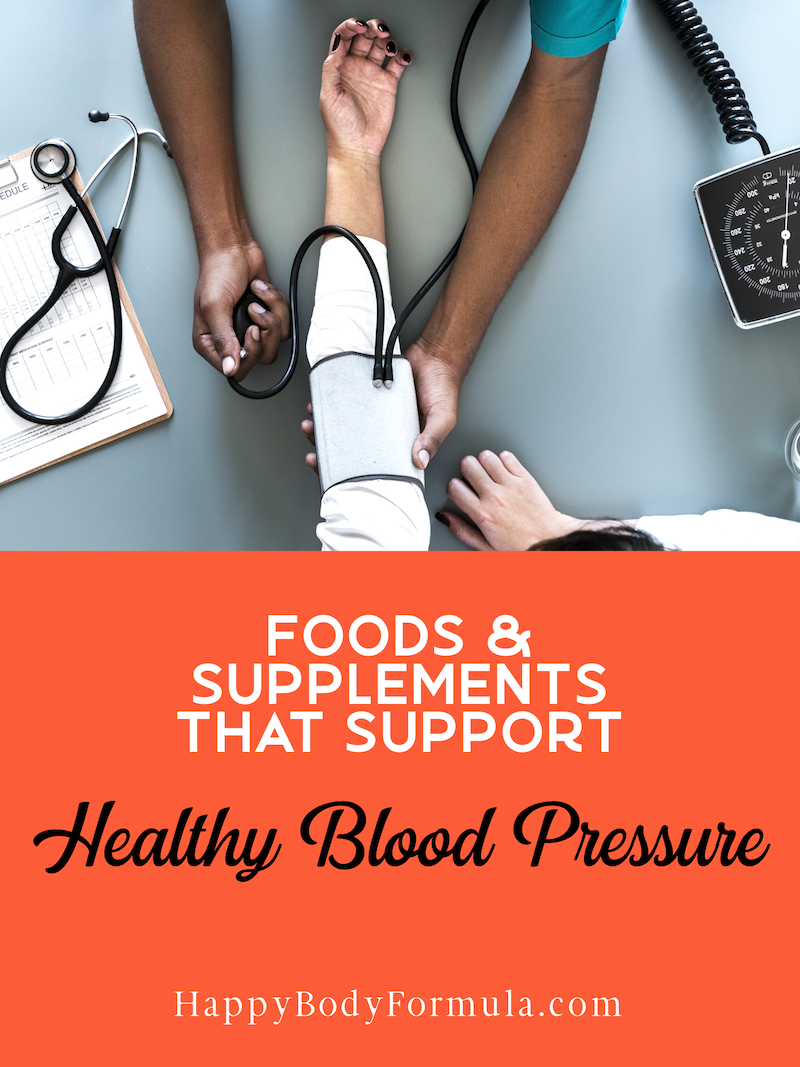 8 Foods That Naturally Help Lower Blood Pressure | Happybodyformula.com