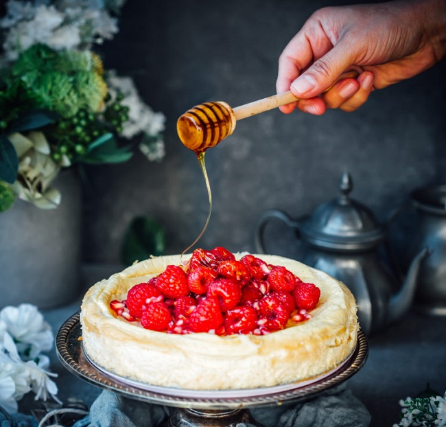 MANUKA HONEY CHEESECAKE