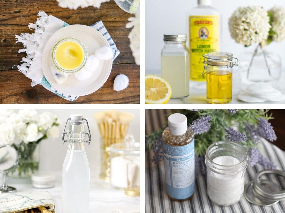 DIY Makeup Remover Recipes