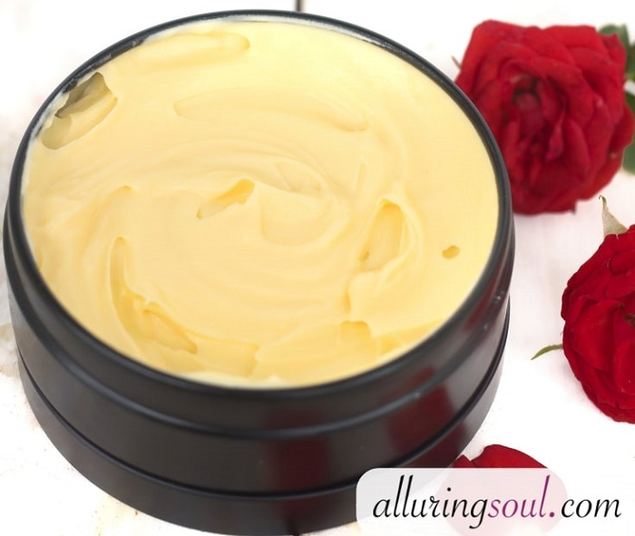 DIY ANTI-WRINKLE ROSEHIP OIL FACE CREAM