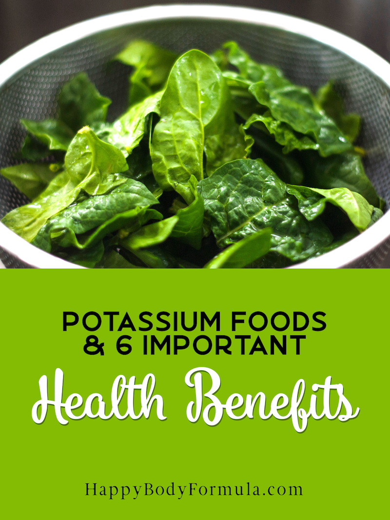 8 Foods High in Potassium & 6 Essential Health Benefits | HappyBodyFormula.com