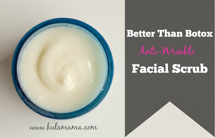 'BETTER THAN BOTOX' FACIAL SCRUB