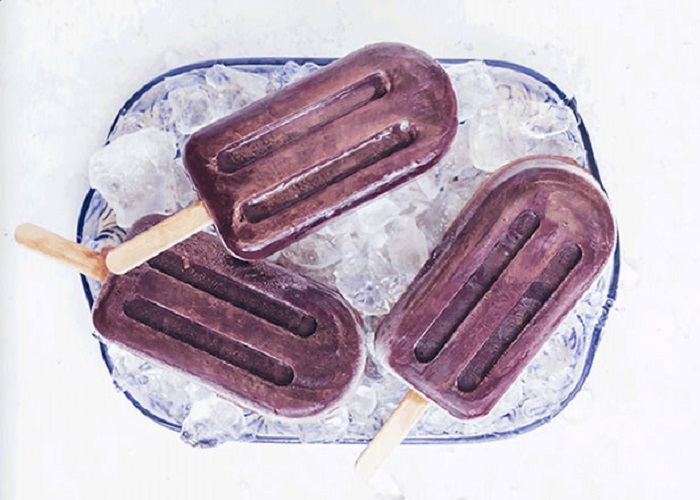 ELDERBERRY POPSICLES