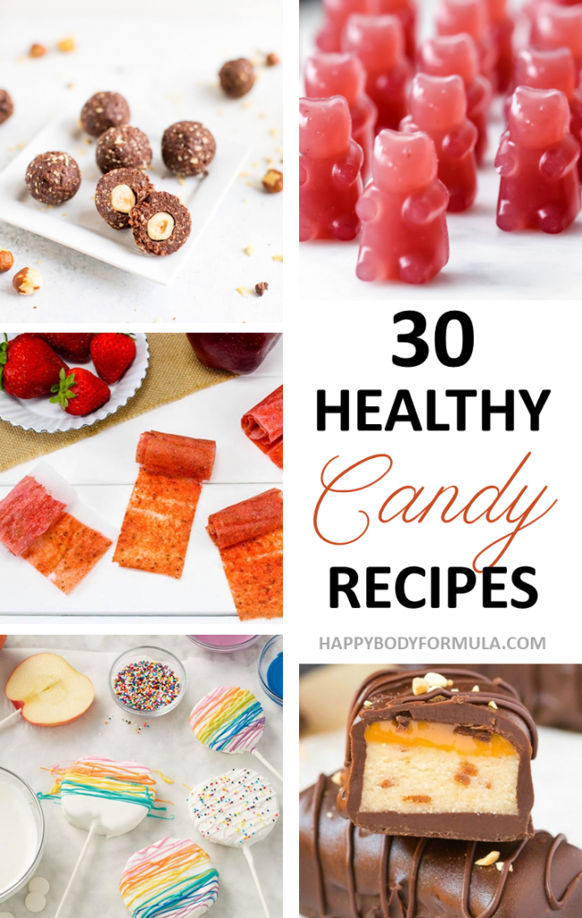 30 Homemade Healthy Candy Recipes That Taste Delicious | Happybodyformula.com