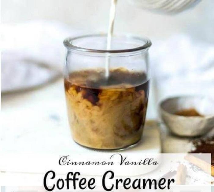 CINNAMON VANILLA COFFEE CREAMER