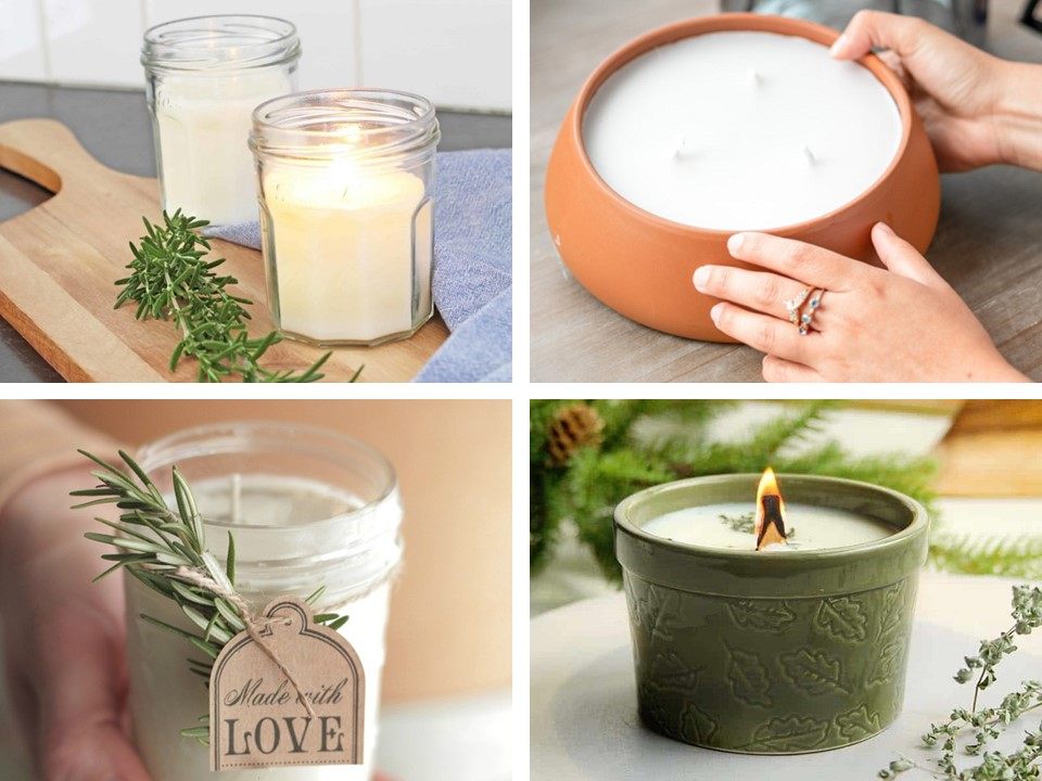 Essential Oil Candles