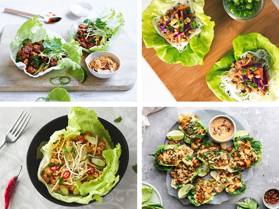 Lettuce Cup Bowl Recipes